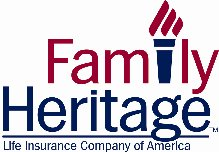 Family Heritage Torchmark Logo