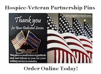 Hospice-Veteran Partnership Pins